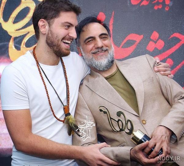عکس حسن فتحی و پسرش