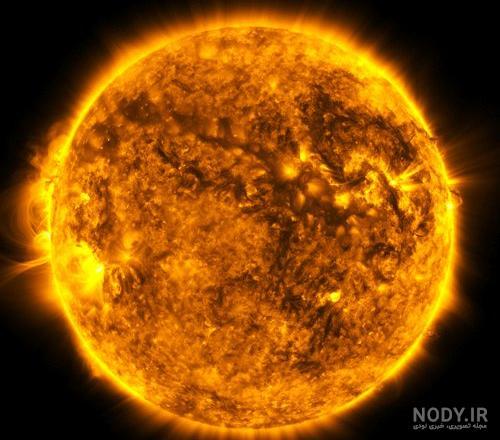 عکس خورشید جدید