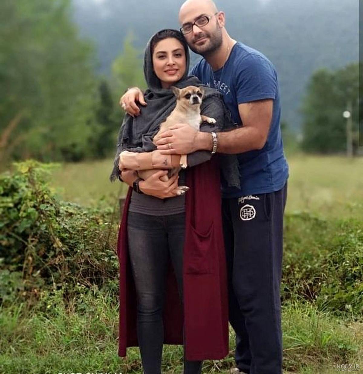 عکس بارداری حدیثه تهرانی