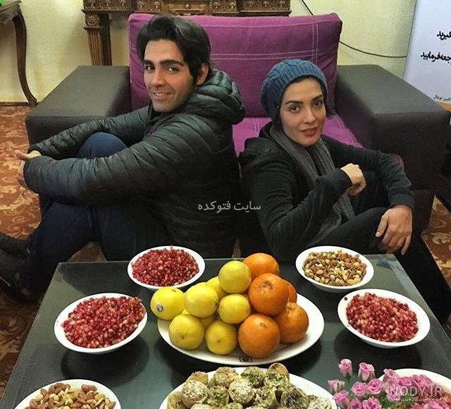 عکس شهاب شادابی و همسرش