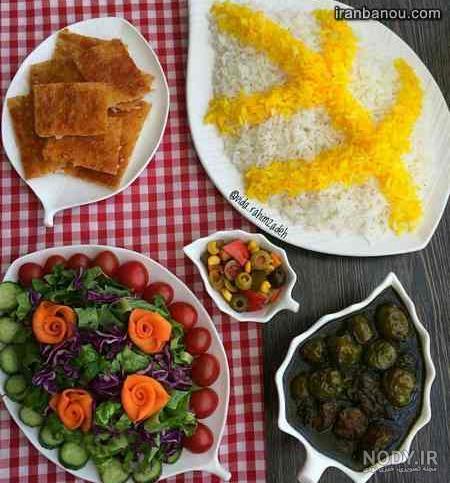 عکس غذاهای سالم ایرانی