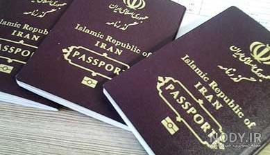 عکس روی پاسپورت