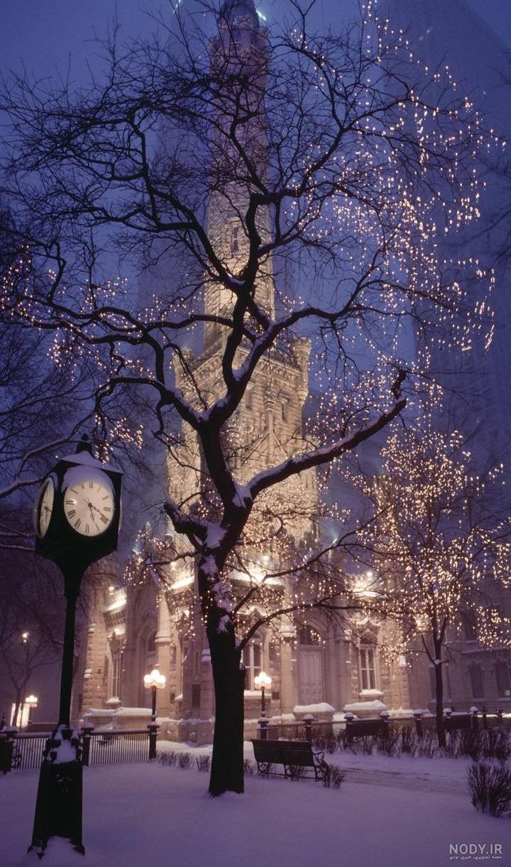عکس شب کریسمس