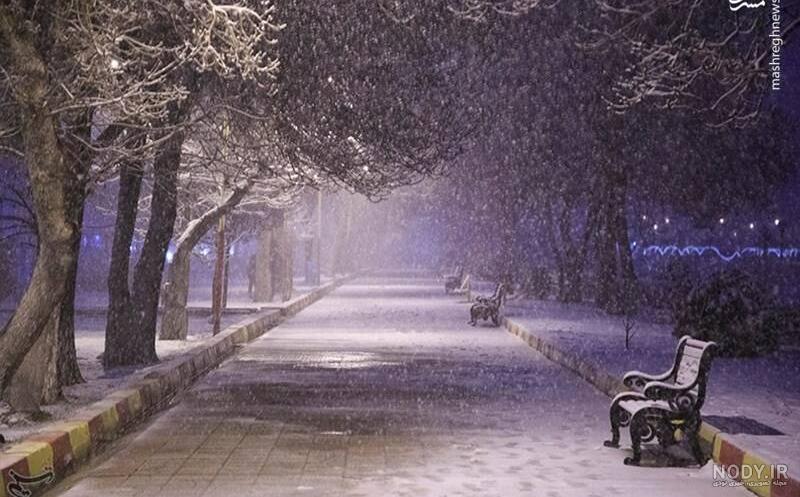 عکس شب زمستانی