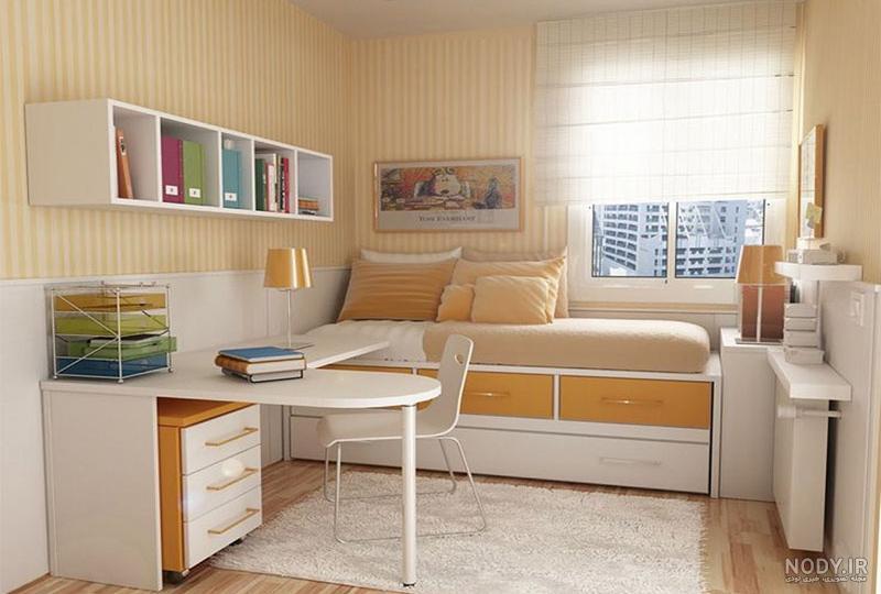 عکس ایده برای اتاق خواب ۱۲ متری