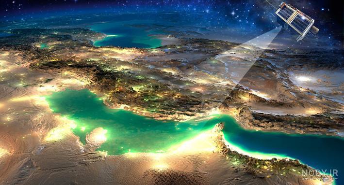 عکس ایران از آسمان