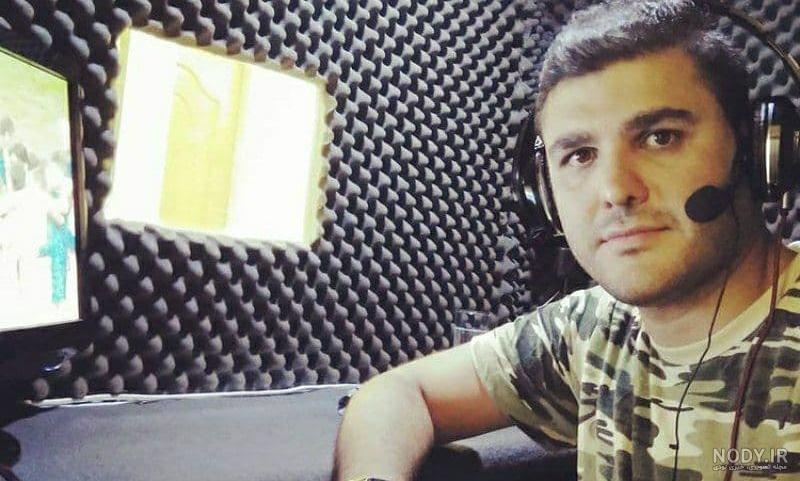 عکس شهاب وهابی گزارشگر فوتبال