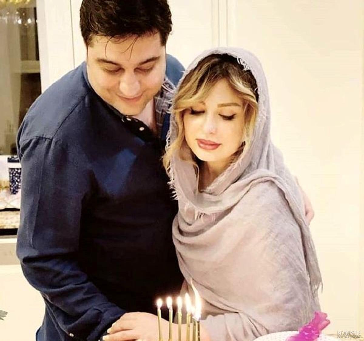 عکس خانه نیوشا ضیغمی و همسرش