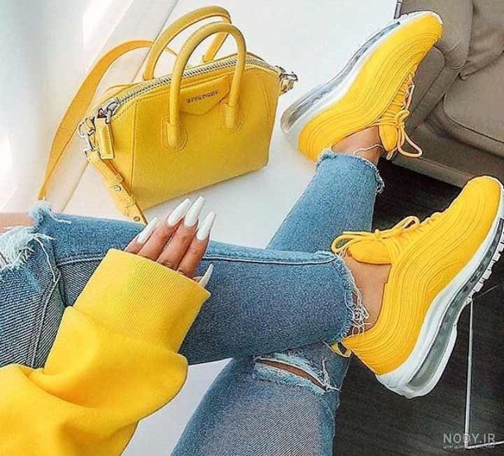 عکس فیک زرد