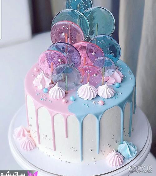 عکس ایده زیبا کیک