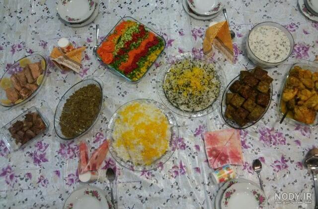 عکس غذای شب عید