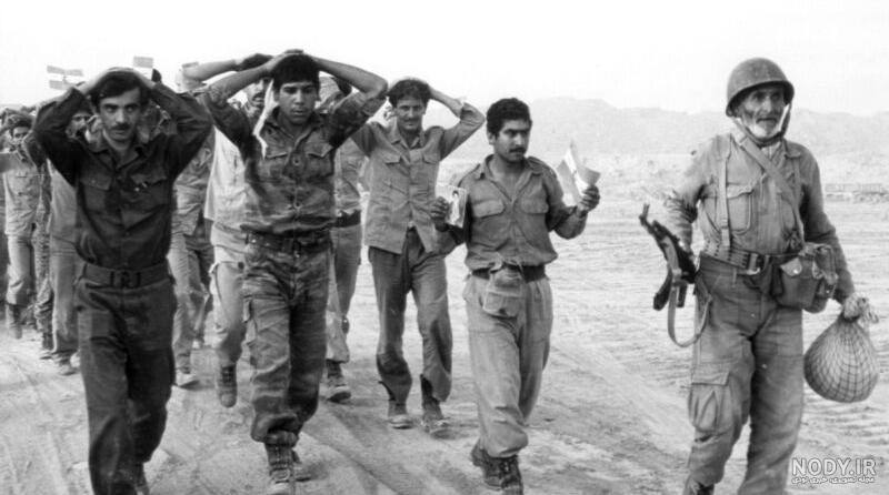 عکس اسرای عراقی