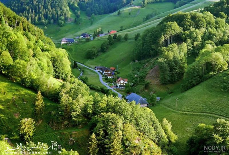 عکس زیبای طبیعت سوئیس