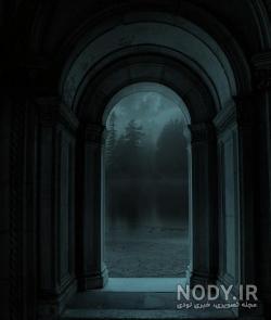 عکس صفحه گوشی تاریک