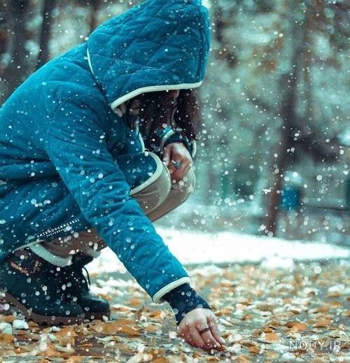 عکس لاکچری زمستانی
