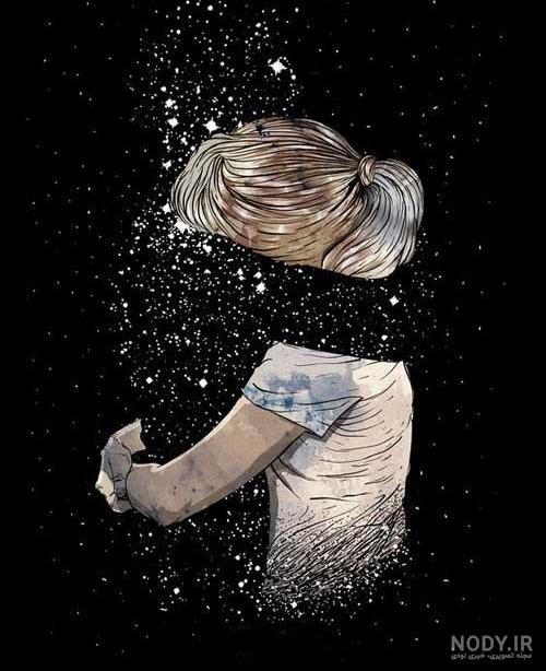 عکس غمگین تنهایی اینستا