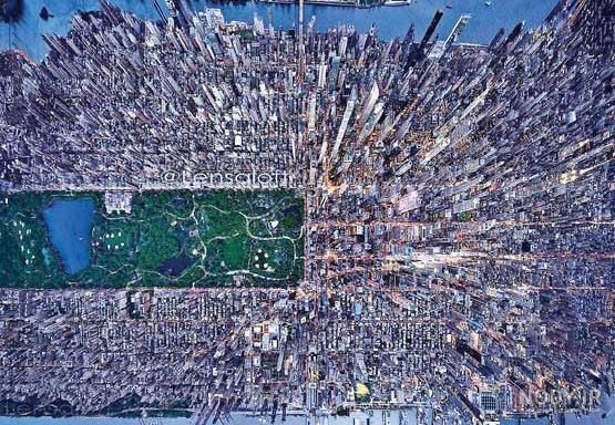 عکس هوایی نیویورک