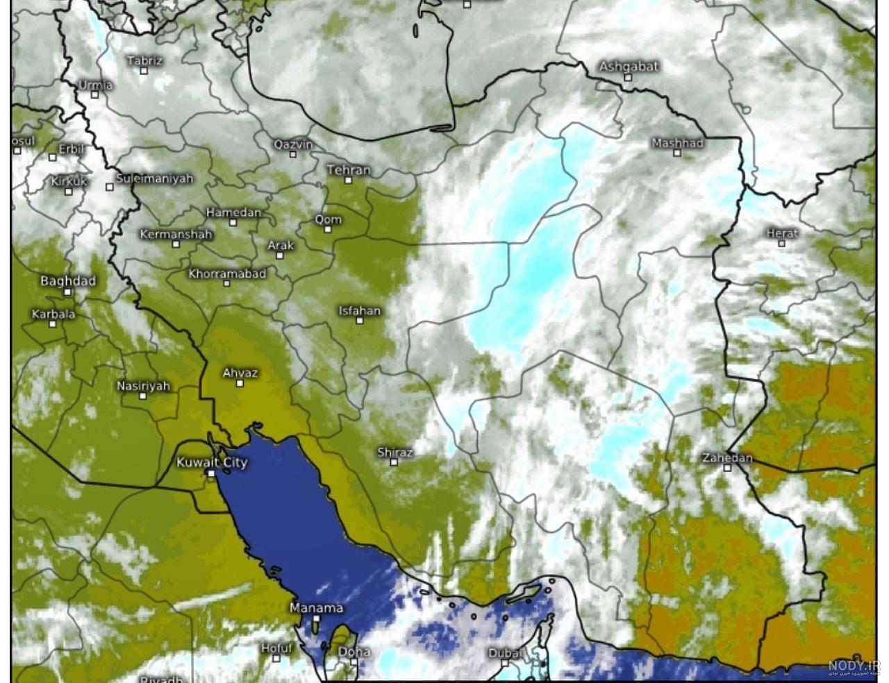 عکس هوایی هواشناسی