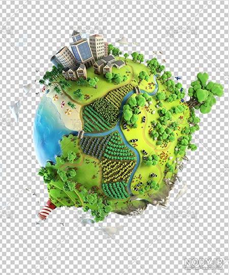 عکس کره زمین پاک