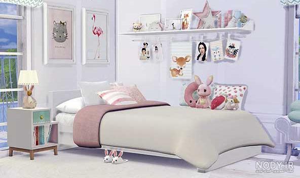 عکس ایده برای تزیین اتاق خواب کودک