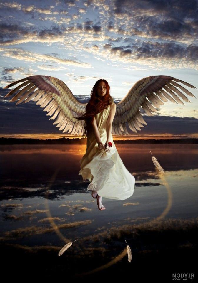 عکس فرشته صورتی