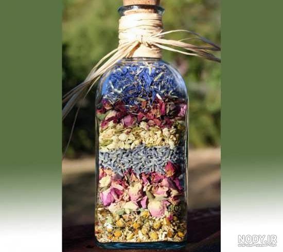 عکس ایده برای تزیین با گل خشک