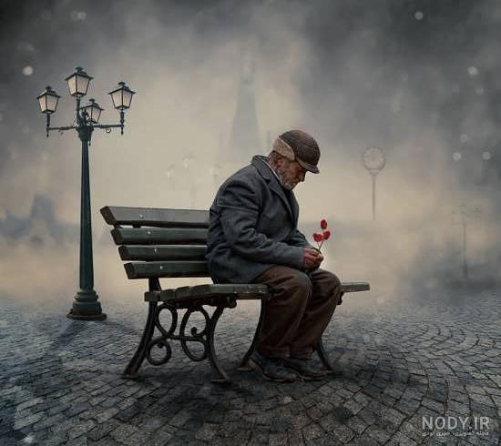عکس مفهومی غمگین بدون متن