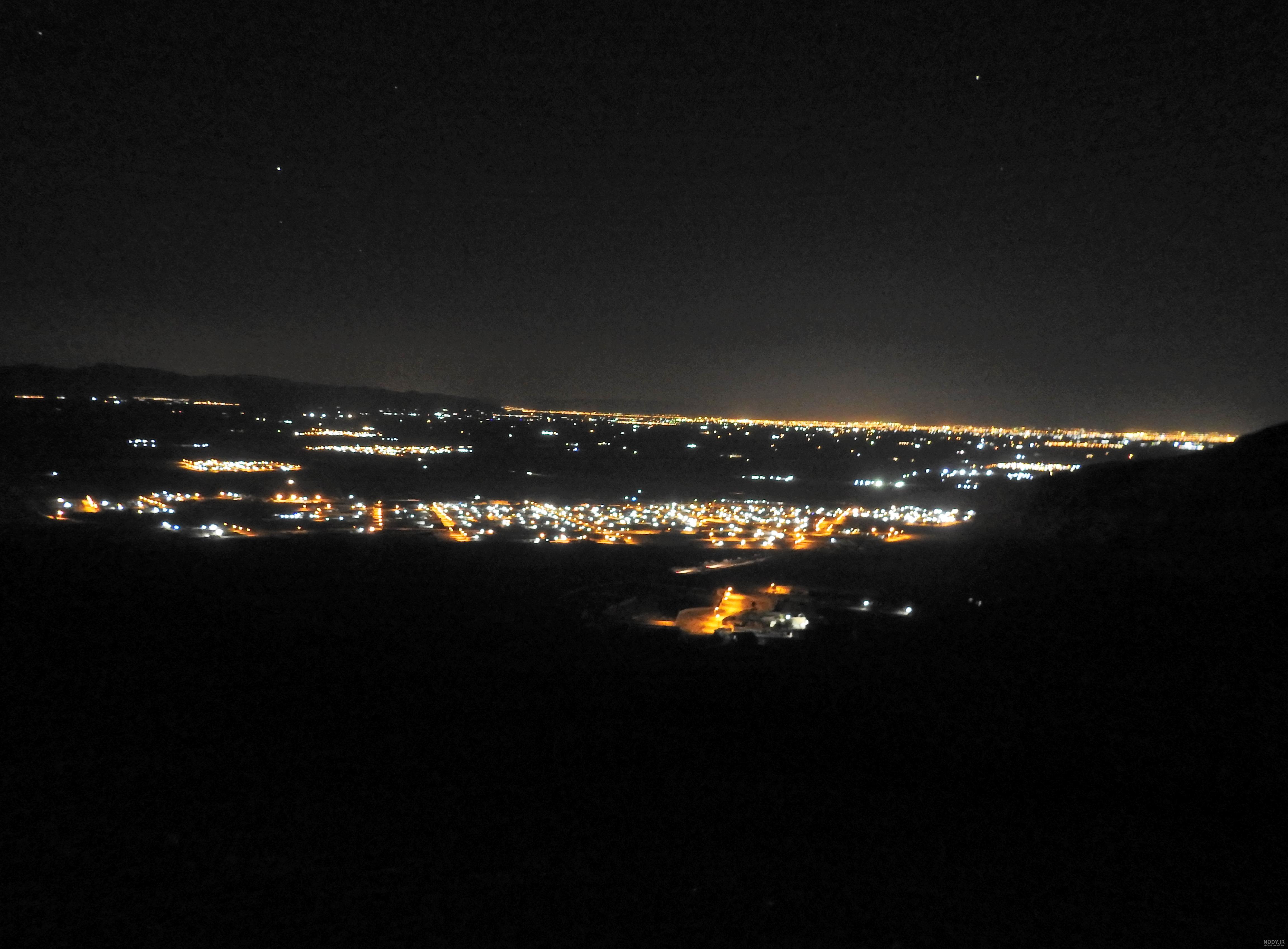 عکس شب روستا