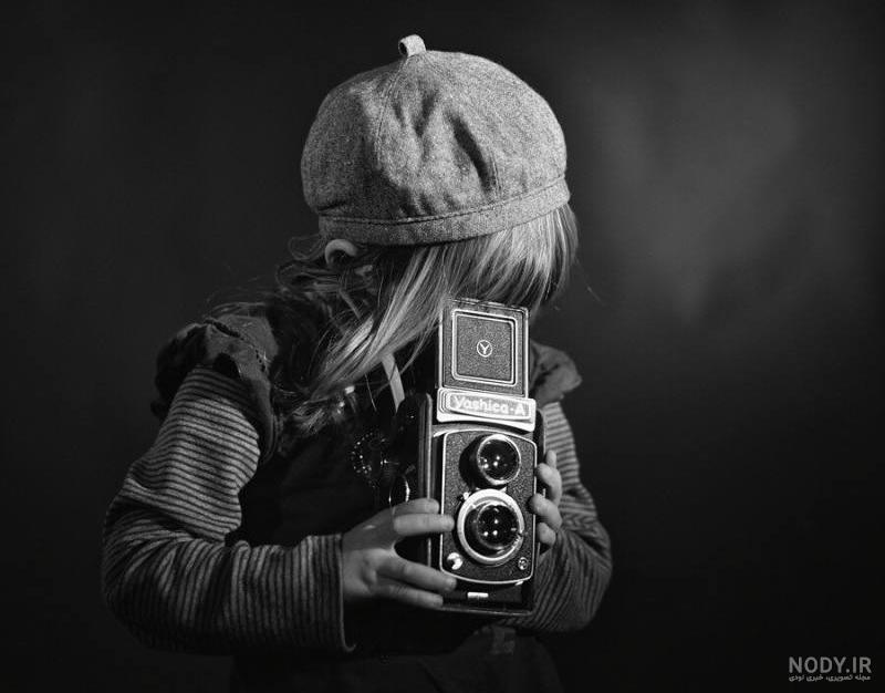 عکس سیاه سفید هنری