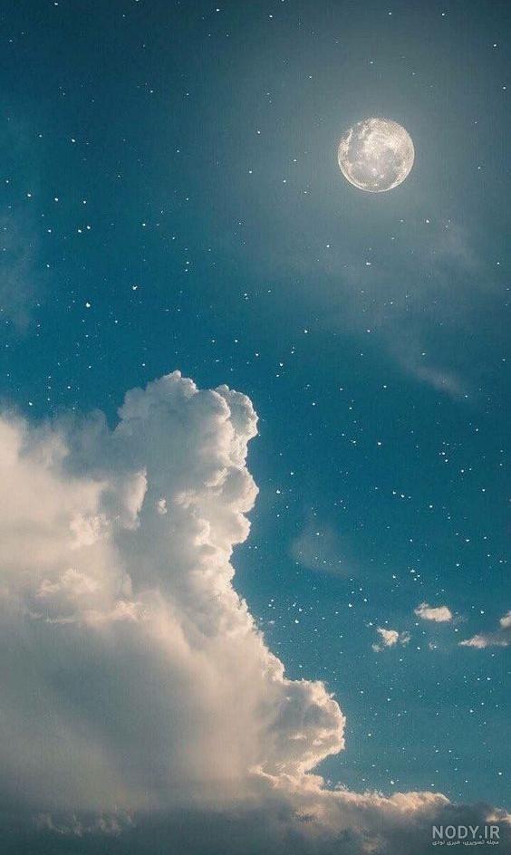 عکس آسمان هنری