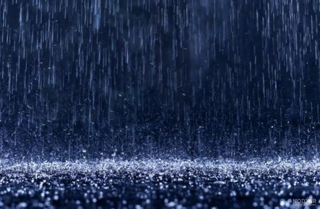 عکس باران زمستانی
