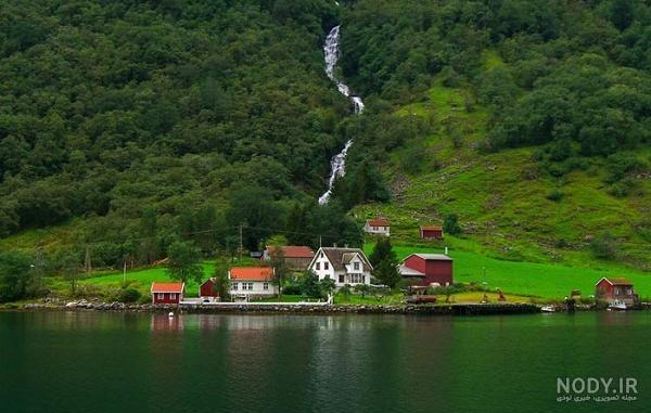 عکس زیبا از طبیعت نروژ