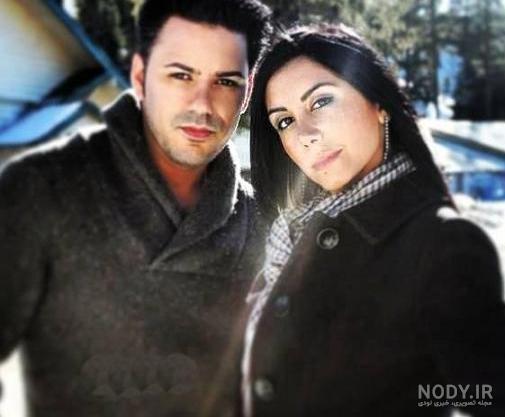 عکس شهاب تیام و همسرش