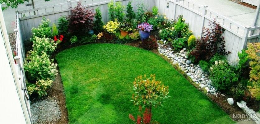 عکس ایده برای زیباسازی حیاط