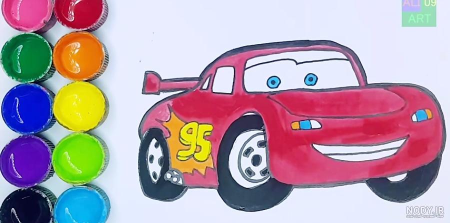 عکس ماشین نقاشی
