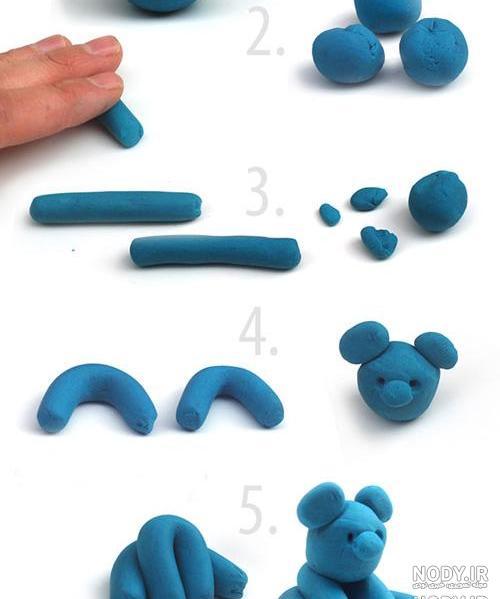 عکس ایده خمیر بازی برای کودکان