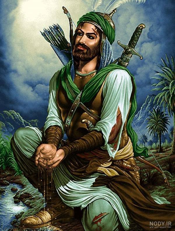 عکس چهره واقعی حضرت عباس