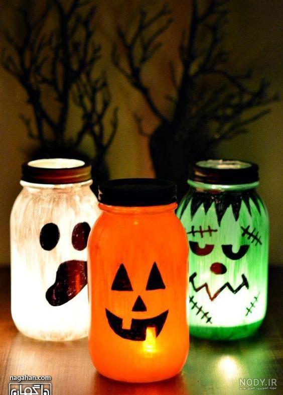 عکس ایده کاردستی برای هالووین