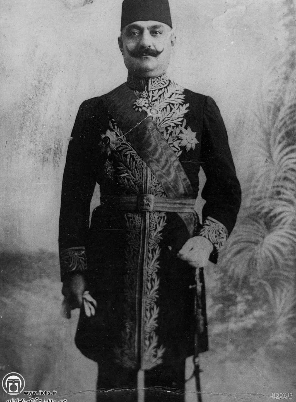 عکس مرد قاجار