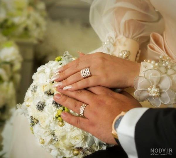 عکس حلقه ازدواج الهام حمیدی