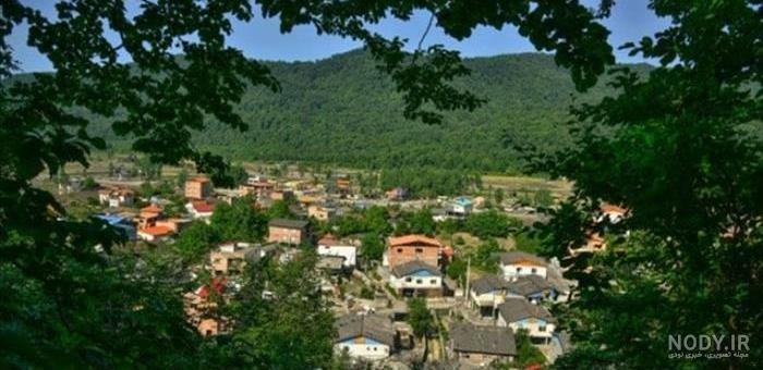عکس روستای رزکه آمل