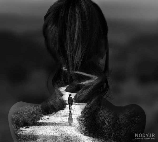 عکس سیاه سفید جذاب