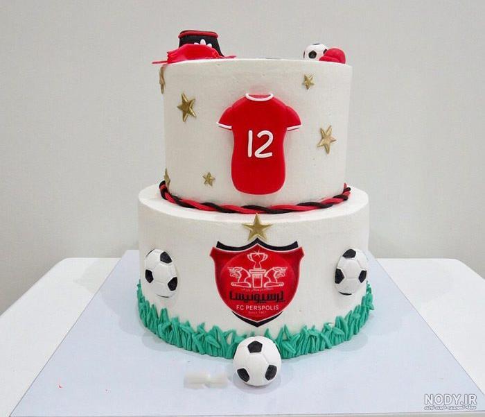 عکس کیک تولد پسرانه خوشگل ایرانی