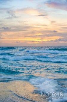 عکس دریا عمودی