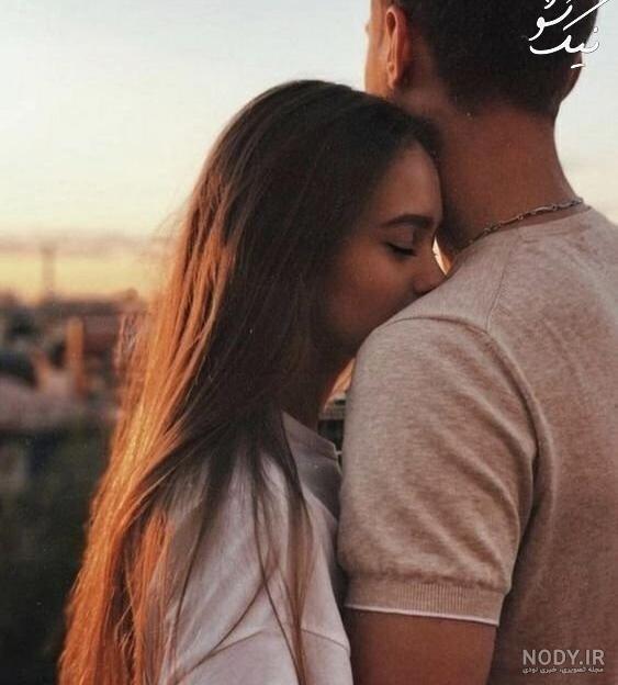 عکس عاشقانه دونفره بدون متن لب