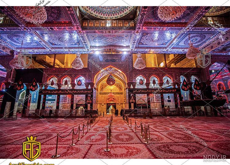 عکس داخل صحن امام حسین