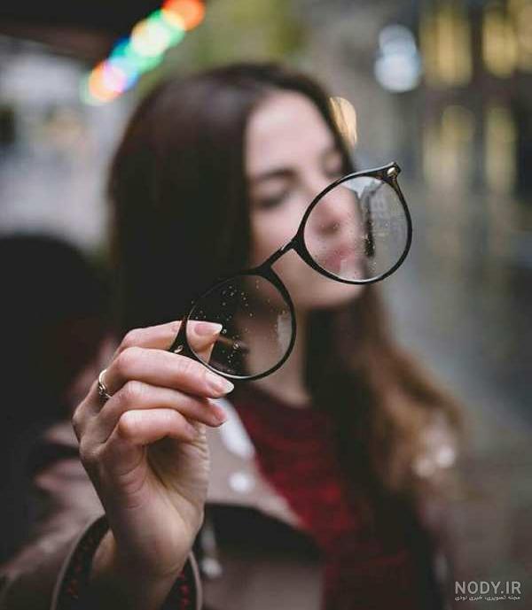 عکس دخترونه عینکی شیک