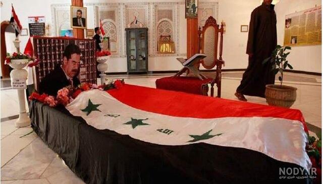 عکس قبر صدام حسین