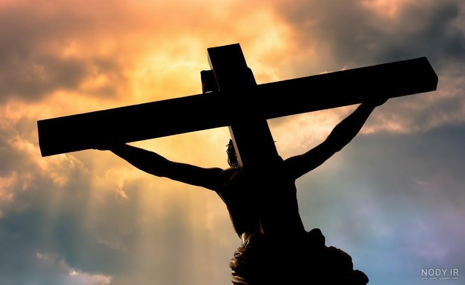عکس به صلیب کشیده شدن