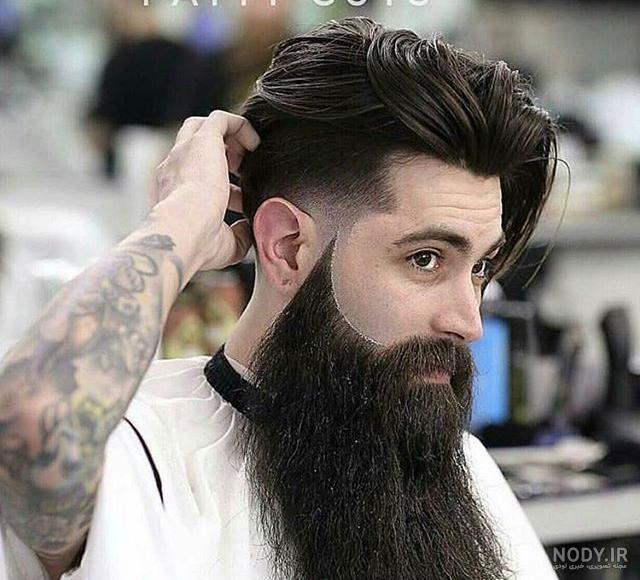 عکس ریش بلند مردانه